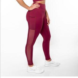 DoYouEven side mesh leggings